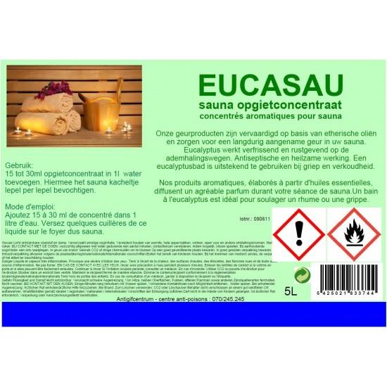 Sauna opgietconcentraat Eucalyptus (sauna)  5l