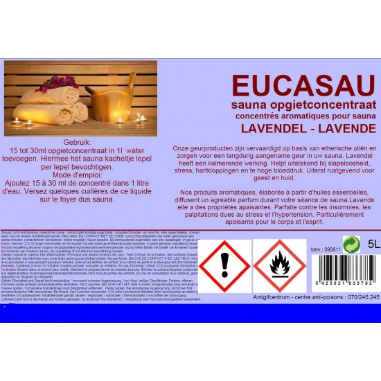 Sauna opgietconcentraat lavendel 5L
