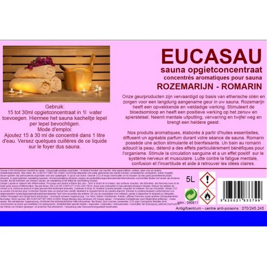Sauna opgietconcentraat rozemarijn  5l