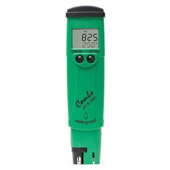 HI 98121 Waterbestendige pocketmeters voor pH / ORP /