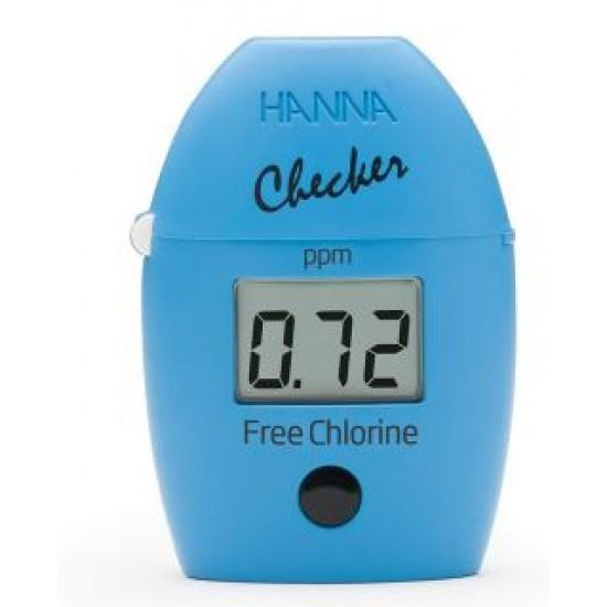 HI 701 pocket fotometer voor vrije chloor